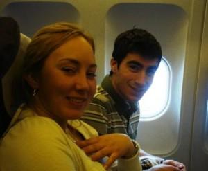 Remy et Laure dans l\'avion