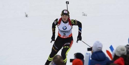 Anaïs Bescond s'est offert une victoire en Coupe du monde à Antholz-Anterselva. (L'Equipe)